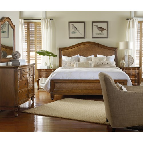 Hooker Furniture Windward Queen Bedroom Group