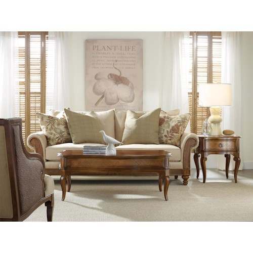 Hooker Furniture Windward Stationary Living Room Group