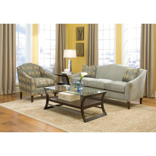 Fairfield 2710 Stationary Living Room Group