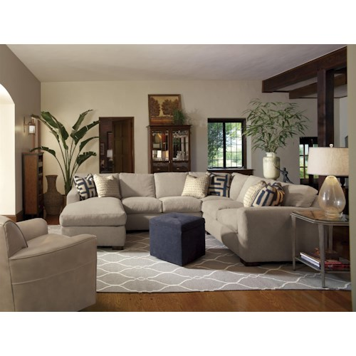 Flexsteel Bryant Stationary Living Room Group