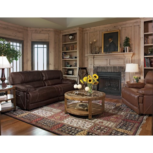 Flexsteel Fleet Street Reclining Living Room Group