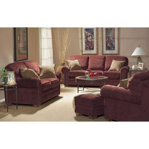 Flexsteel Harrison Stationary Living Room Group