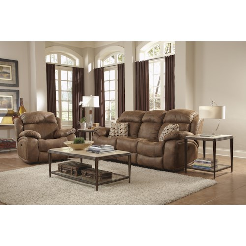 Flexsteel Latitudes-Como Power Reclining Living Room Group