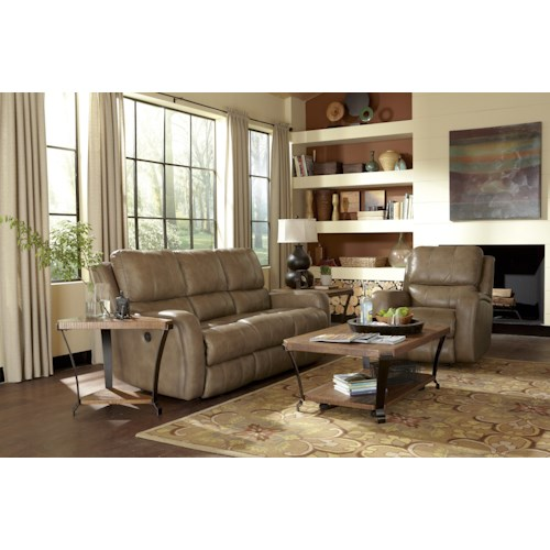 Flexsteel Latitudes-Hammond Reclining Living Room Group