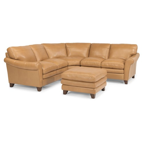 Flexsteel Latitudes-Sofia Stationary Living Room Group