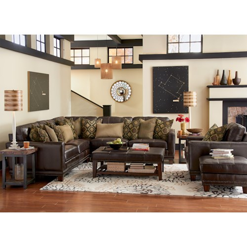 Flexsteel Latitudes - Port Royal Stationary Living Room Group