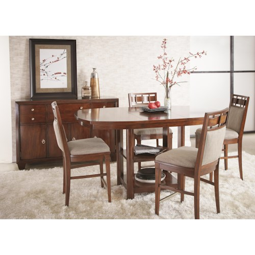 Folio 21 Avignon Dining Room Group Story Lee Furniture Casual Dining Room Group Leoma