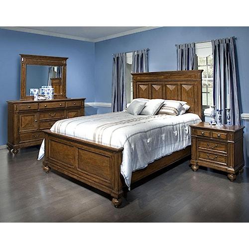 Folio 21 Jefferson King Bedroom Group Story Lee Furniture Bedroom Group Leoma