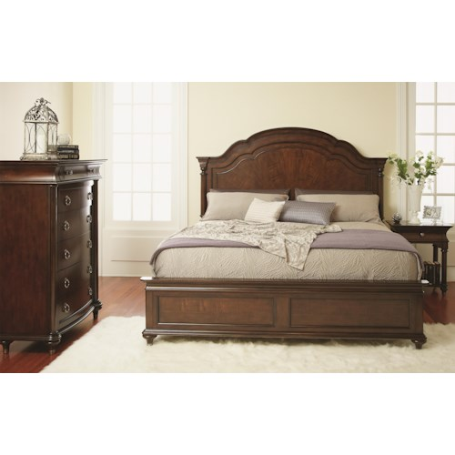 Folio 21 Fitzgerald 6 Piece Queen Bedroom Group Story Lee Furniture Bedroom Group Leoma