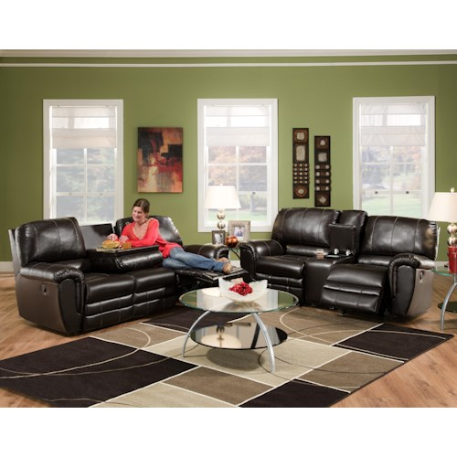 Franklin 463 Reclining Living Room Group