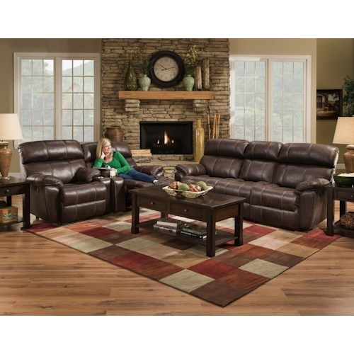 Franklin Butler Reclining Living Room Group