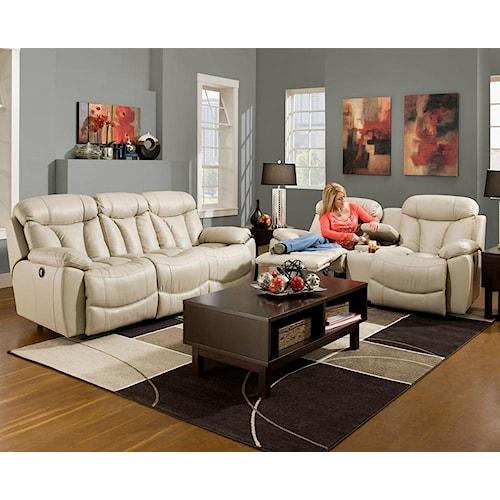Franklin Wescott Reclining Living Room Group