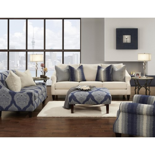 Fusion Furniture 3200 Stationary Living Room Group