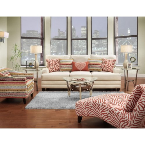 Fusion Furniture 4400 Stationary Living Room Group