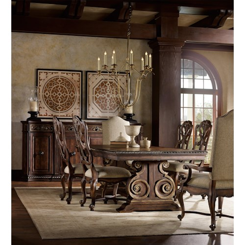 Hooker Furniture Adagio Formal Dining Room Group