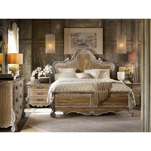 Hooker Furniture Chatelet King Bedroom Group