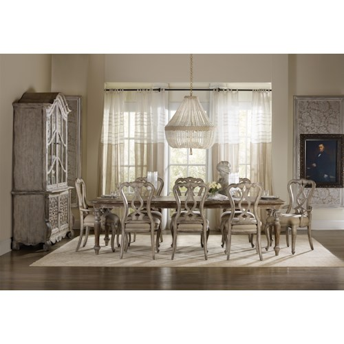 Hooker Furniture Chatelet Formal Dining Room Group