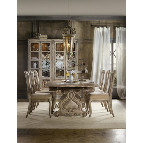 Hooker Furniture Chatelet Casual Dining Room Group