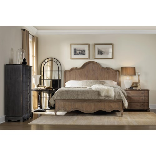 Hamilton Home Corsica Queen Panel Bedroom Group