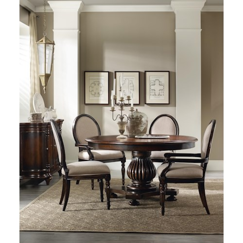 Hamilton Home Eastridge Round Table Dining Room Group