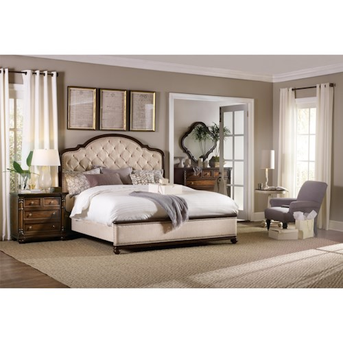Hooker Furniture Leesburg Queen Bedroom Group