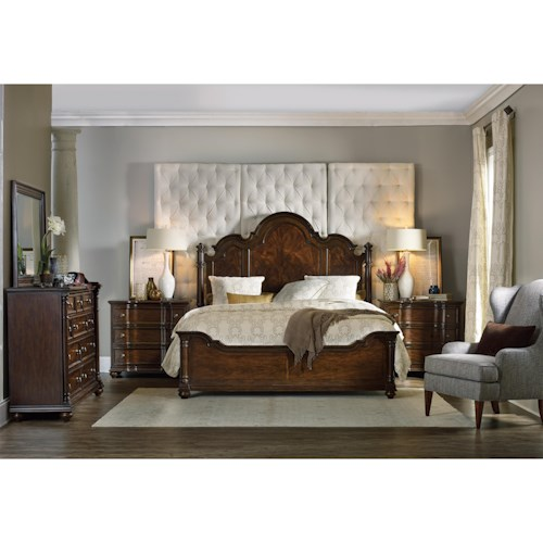 Hooker Furniture Leesburg California King Bedroom Group