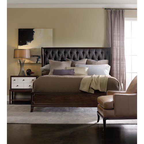 Hooker Furniture Palisade Queen Bedroom Group