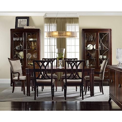 Hooker Furniture Palisade Formal Dining Room Group
