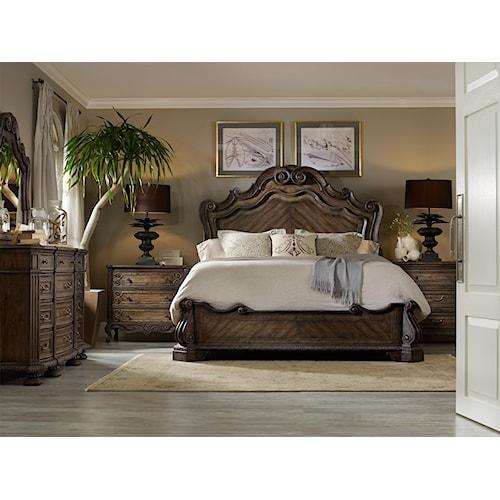 Hooker Furniture Rhapsody King Bedroom Group