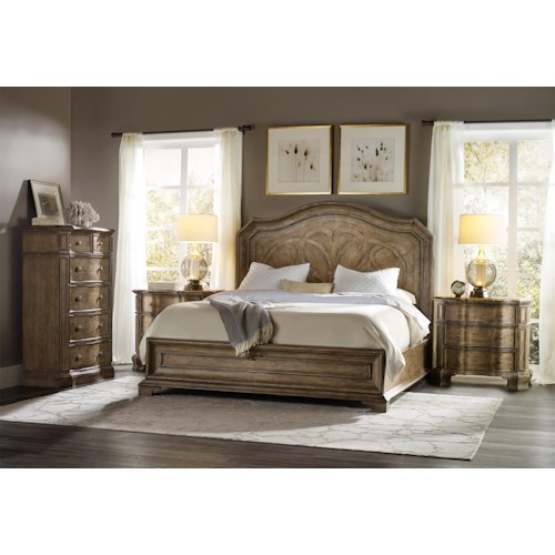 Hooker Furniture Solana King Bedroom Group 1