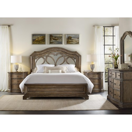 Hooker Furniture Solana Queen Bedroom Group 2