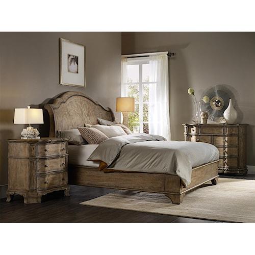 Hooker Furniture Solana King Bedroom Group 3