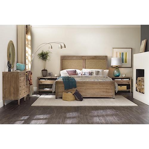 Hooker Furniture Studio 7H King Bedroom Group