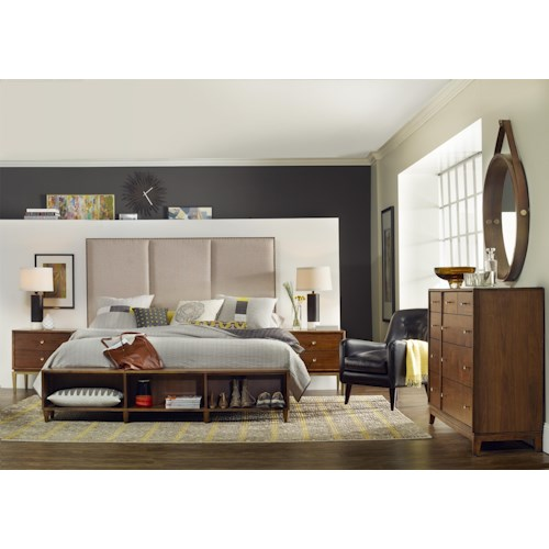 Hooker Furniture Studio 7H King Bedroom Group