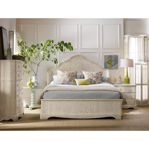 Hooker Furniture Sunset Point Queen Bedroom Group
