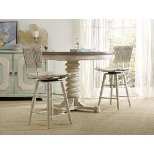 Hooker Furniture Sunset Point Casual Dining Room Group