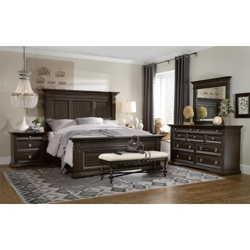 Hooker Furniture Treviso Queen Bedroom Group