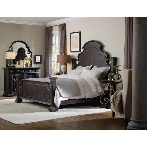 Hooker Furniture Treviso California King Bedroom Group