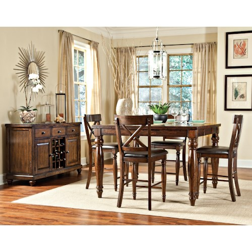 Intercon Kingston  Casual Dining Room Group
