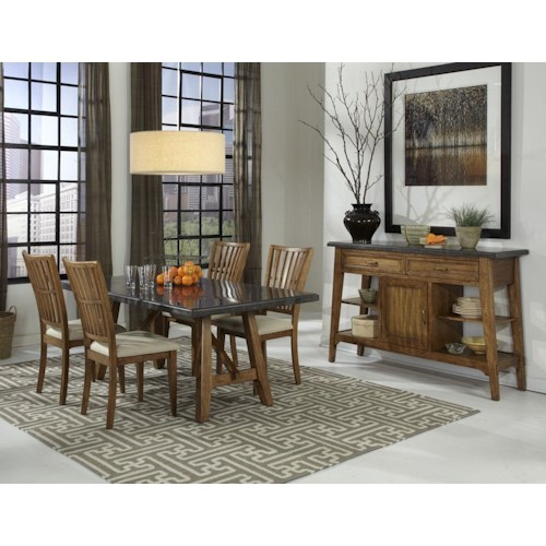 Belfort Select Bluemont Dining Room Group