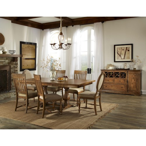 Belfort Select Loudoun Crossing Dining Room Group 1