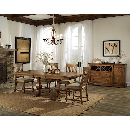 Belfort Select Loudoun Crossing Dining Room Group 2