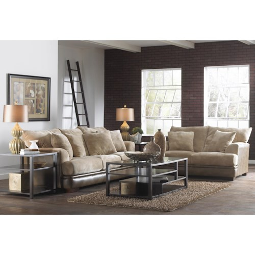 Jackson Furniture Barkley  Stationary Living Room Group