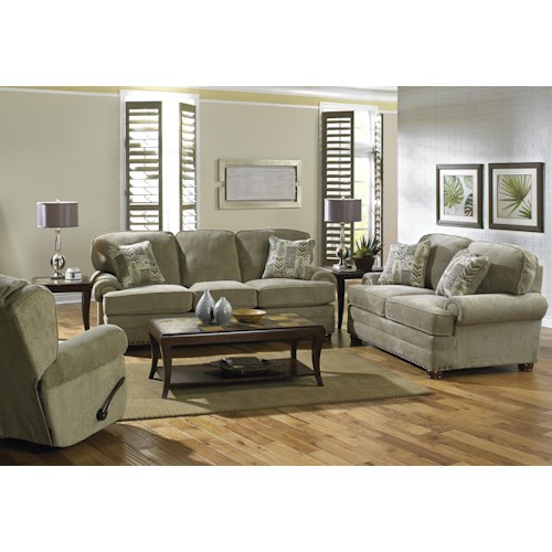 Jackson Furniture Braddock Stationary Living Room Group