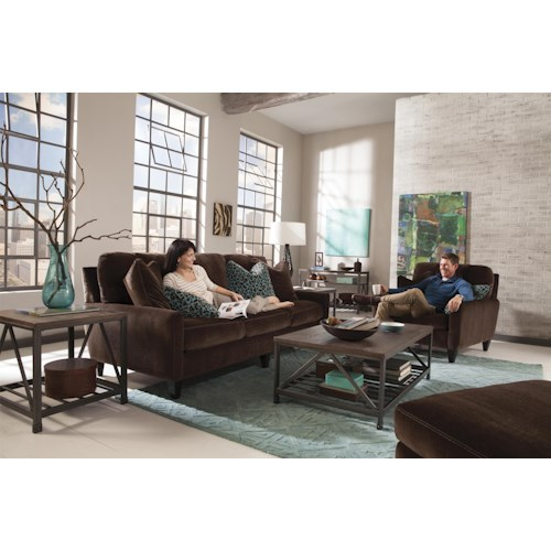 Jackson Furniture Mulholland Stationary Living Room Group