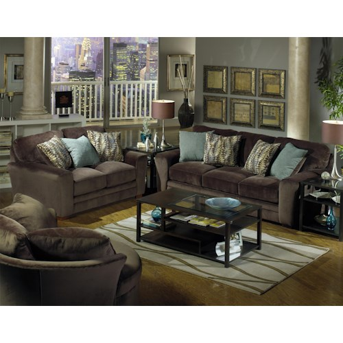 Jackson Furniture Whitney  Stationary Living Room Group
