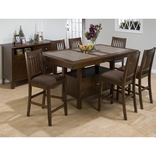 Morris Home Furnishings Derby Casual Dining Room Group