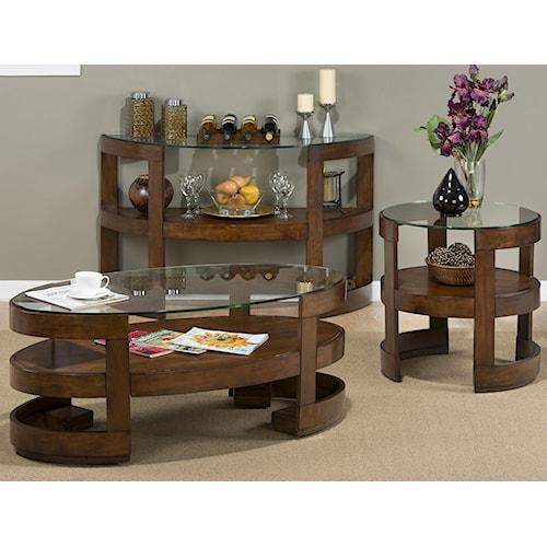Jofran Avon Birch Occasional Table Group