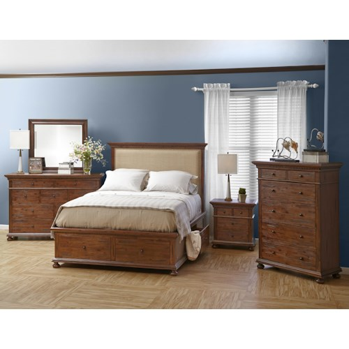 Jofran Geneva Hills Bedroom Group