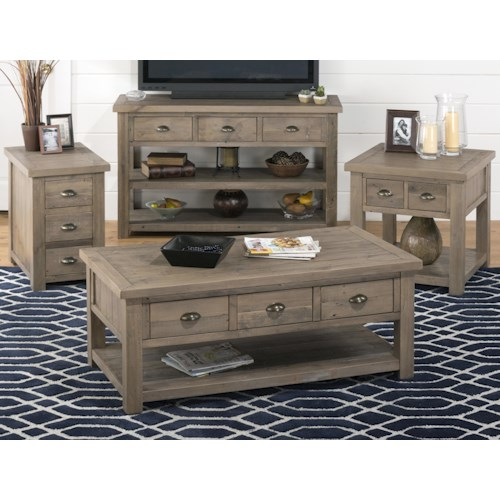 Morris Home Furnishings Danbury Lane Occasional Table Group